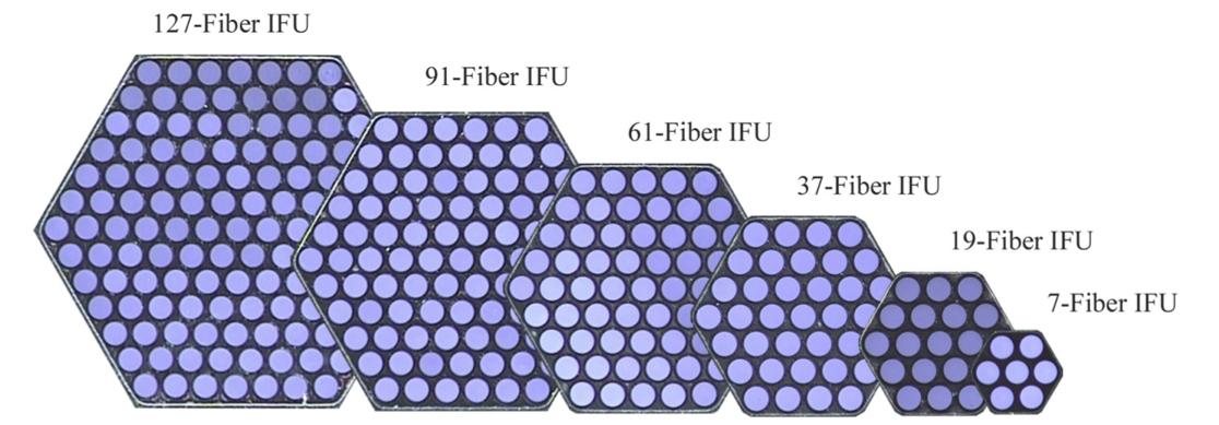 The MaNGA IFU bundles