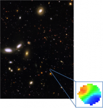 Hubble Space Telescope image of the GOODS-S field
