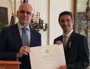 Knighthood for Roberto Maiolino